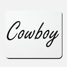 Cowboy Artistic Job Design Mousepad
