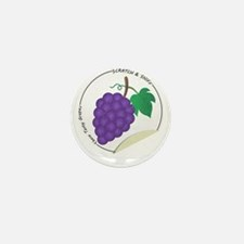 Scratch and Sniff These Tasty Grapes! Mini Button