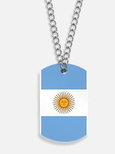 Argentina Flag Dog Tags