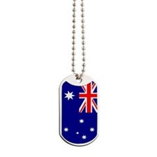 Australia Flag Dog Tags