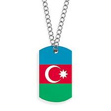 Azerbaijan Flag Dog Tags