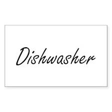 Dishwasher Artistic Job Design Decal