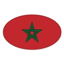 Moorish Sticker (oval 10 Pk)