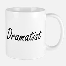 Dramatist Artistic Job Design Mugs