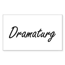 Dramaturg Artistic Job Design Decal