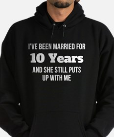 Ive Been Married For 10 Years Hoodie