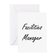 Facilities Manager Artistic Job Des Greeting Cards