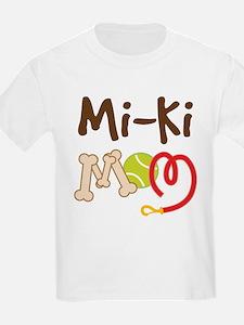 Mi-Ki Dog Mom T-Shirt