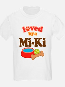 Mi-Ki dog Lover T-Shirt