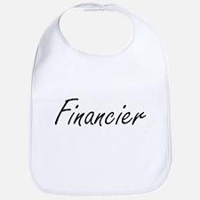 Financier Artistic Job Design Bib
