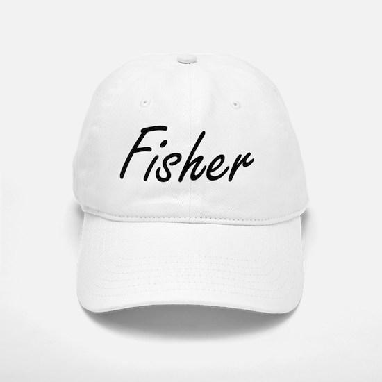Fisher Artistic Job Design Baseball Baseball Cap