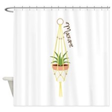 Macrame Hanger Shower Curtain