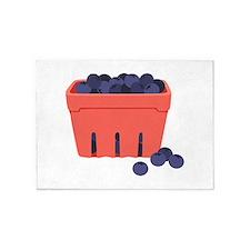 Blueberries 5'x7'Area Rug