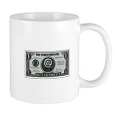 One Cyber Dollar Etching Mugs