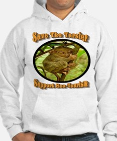 Save the Tarsier Support Eco-Tou Hoodie
