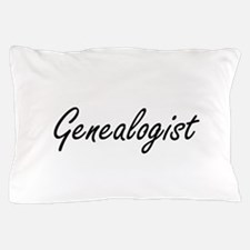 Genealogist Artistic Job Design Pillow Case