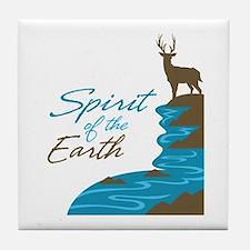 Cute Religion beliefs Tile Coaster