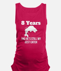 8 Years Best Catch Maternity Tank Top