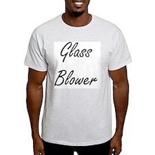 Glass Blower Artistic Job Design T-Shirt
