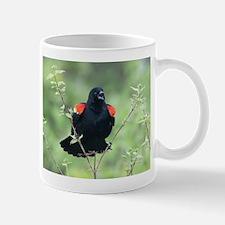 Red-Winged Blackbird Mugs