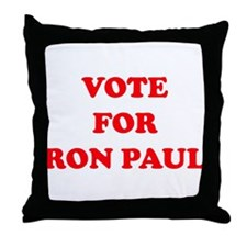 VOTE FOR RON PAUL Throw Pillow