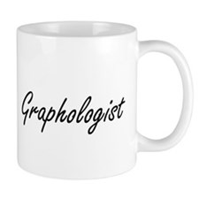 Graphologist Artistic Job Design Mugs