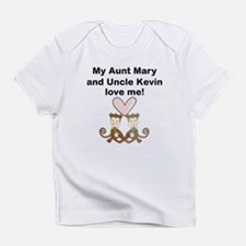 My Aunt And Uncle Love Me Infant T-Shirt