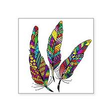 Feather Sketch 1 Sticker