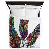 Rainbow pattern Queen Duvet Covers