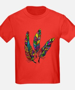 Feather Sketch 1 T-Shirt