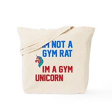 Gym Unicorn Tote Bag