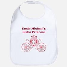Uncles Little Princess Bib