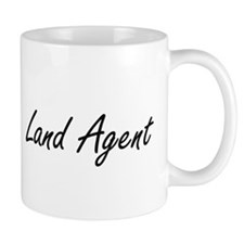 Land Agent Artistic Job Design Mugs