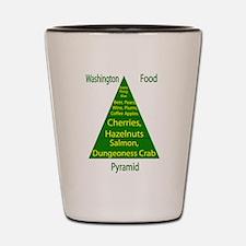 Washington Food Pyramid Shot Glass