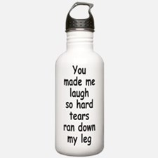 Laugh So Hard 3 Water Bottle