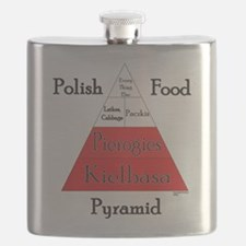 Polish Food Pyramid Flask