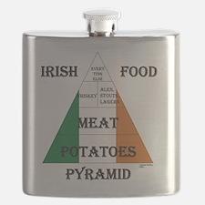 Irish Food Pyramid Flask