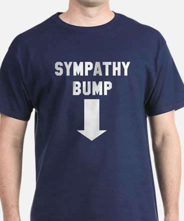 Expecting dad sympathy bump T-Shirt
