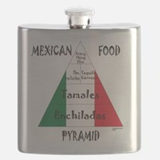 Mexican Food Pyramid Flask