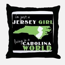 Cute Country girl Throw Pillow