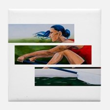 rowing 11x17.jpg Tile Coaster