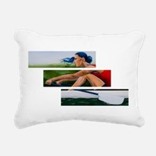 rowing 11x17.jpg Rectangular Canvas Pillow