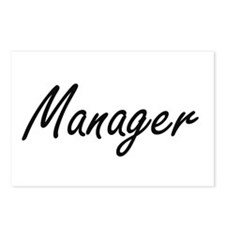Manager Artistic Job Desi Postcards (Package of 8)