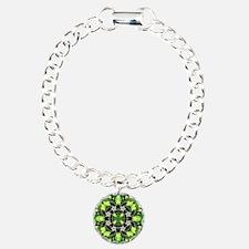 Fragments Pattern Green Bracelet