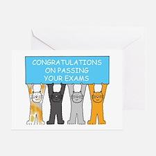 Unique Examination Greeting Card