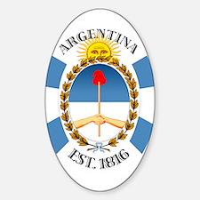 Argentina Sticker (Oval)