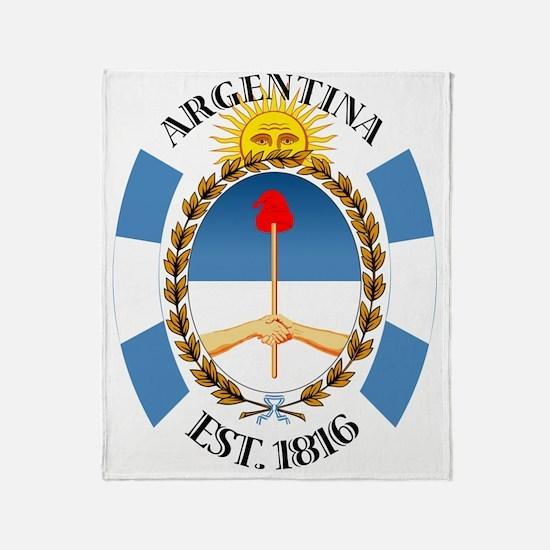 Argentina Throw Blanket