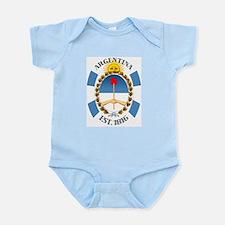 Argentina Infant Bodysuit