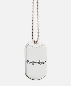 Martyrologist Artistic Job Design Dog Tags