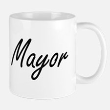 Mayor Artistic Job Design Mugs